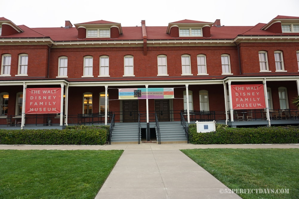 Walt Disney Family Museum in Presidio