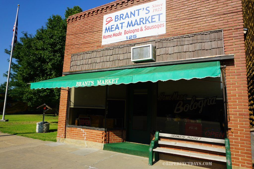Brant's Meat Market in Lucas, KS