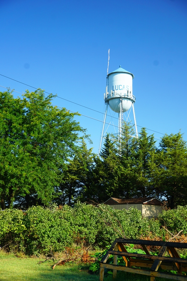 Water Tower in Lucas