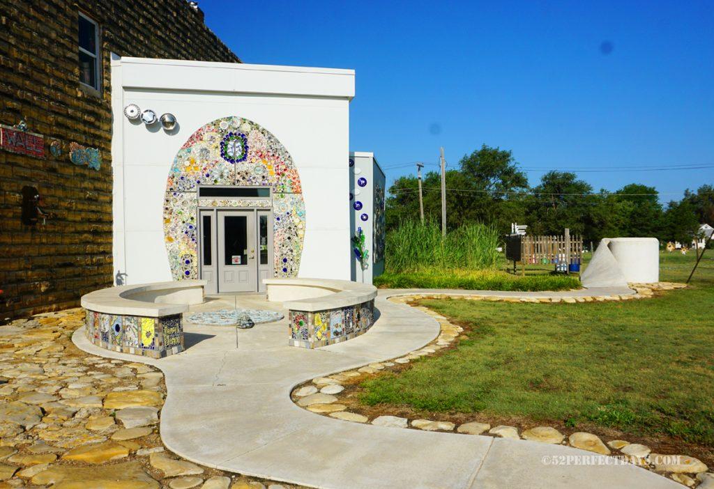 Bowl Plaza in Lucas, Kansas