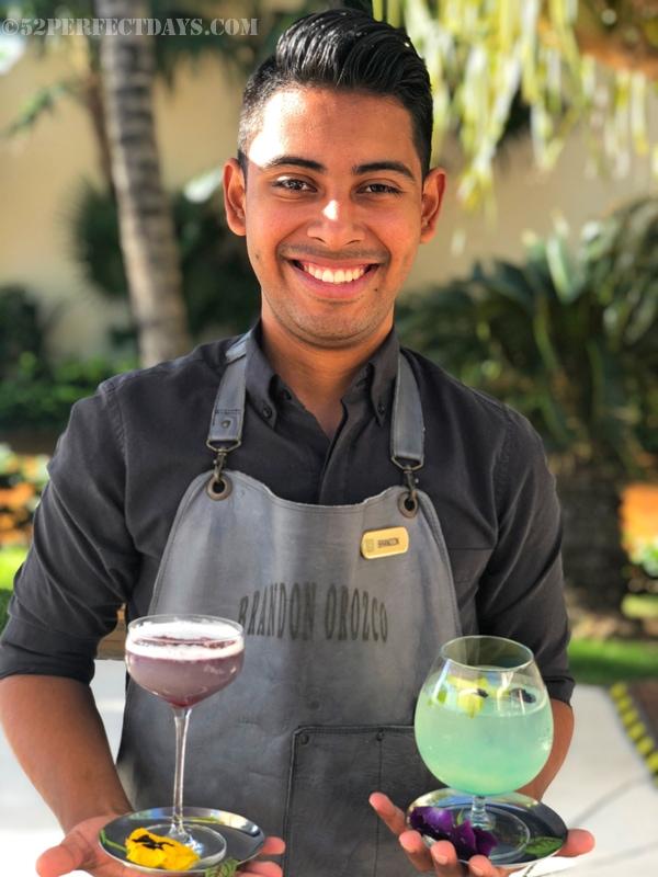 Grand Velas Riviera Maya mixologist