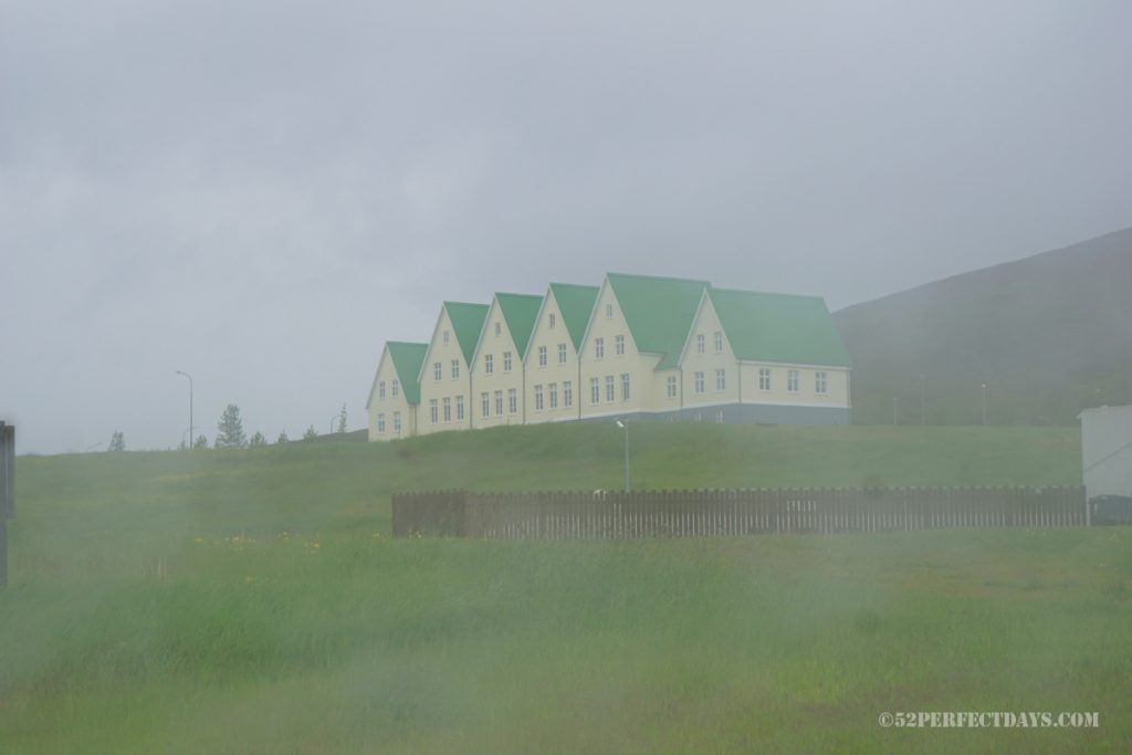 Foggy morning in Iceland