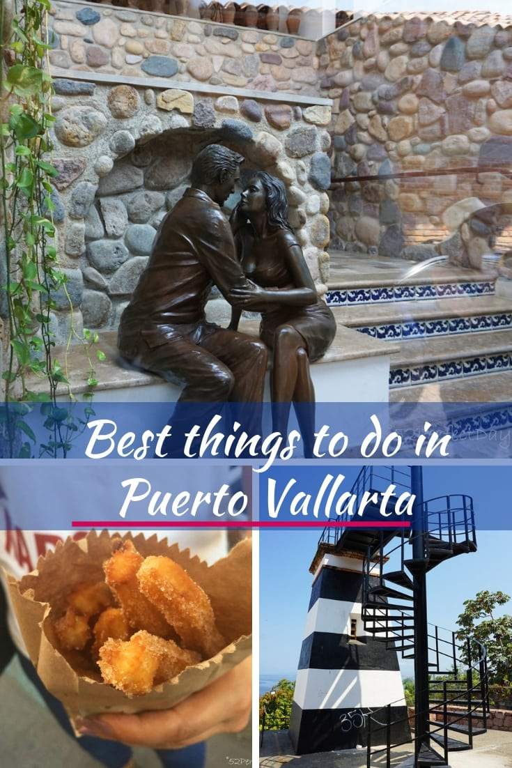 Best things to do in Puerto Vallarta! Best beaches, taco & churro tours, adventures ziplining, ATV tours as well as the best spot to watch the sunset! #mexico #puertovallarta #travel