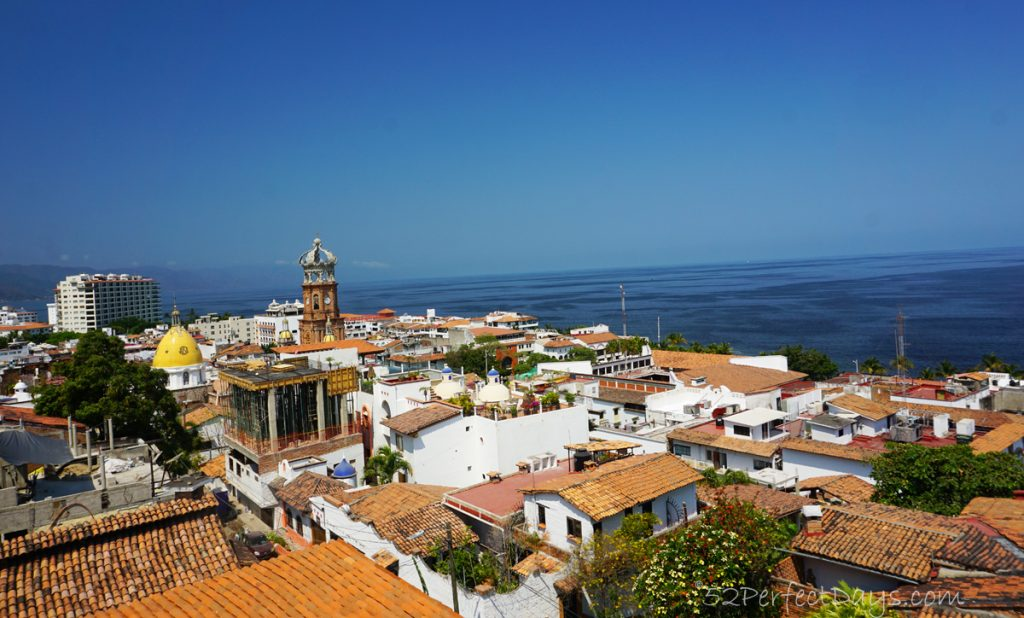 view from the lighthouse in Puerto Vallarta