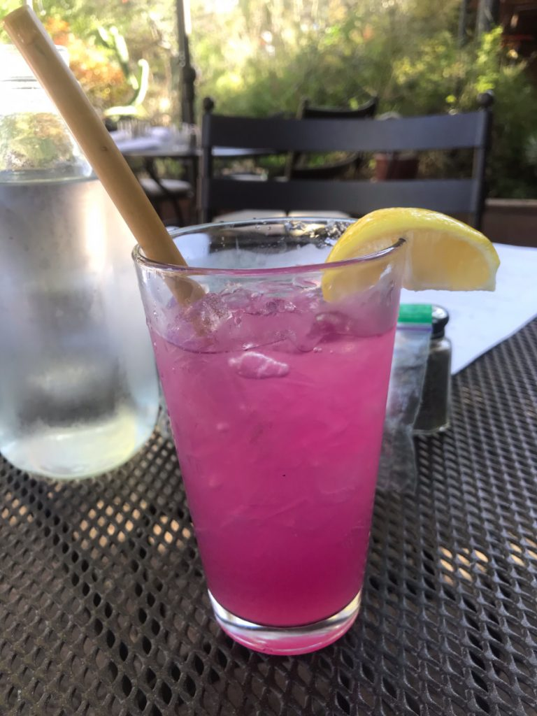Prickly Pear Lemonade at Tohono Chul