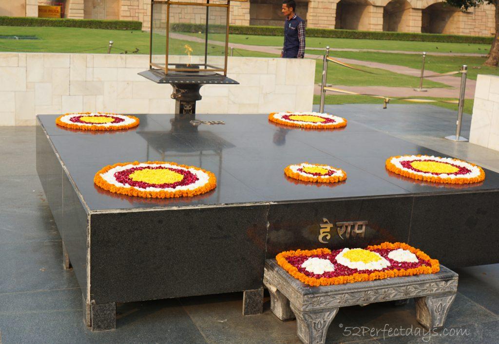 Rajghat in Delhi