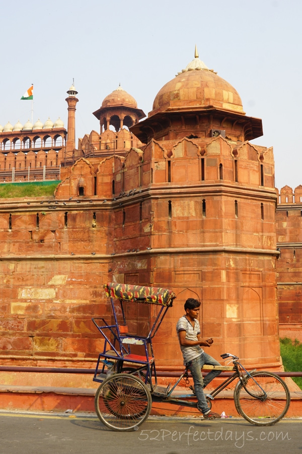 UNESCO World Heritage Site, the Red Fort