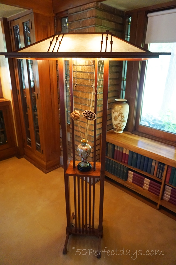 Frank Lloyd Wright House light fixture