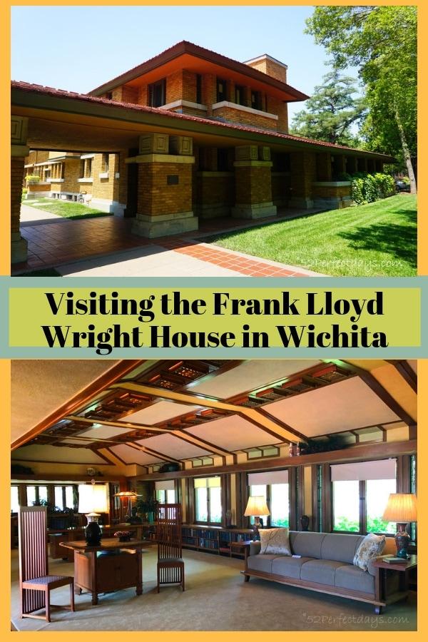 Visiting the Frank Lloyd Wright House Wichita