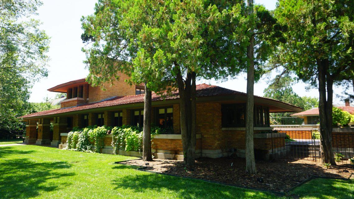 Frank Lloyd Wright House Wichita