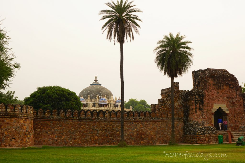 Humayun's Tomb in Delhi. UNESCO World Heritage Site