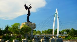 Keeper of the Plains in Wichita, Kansas