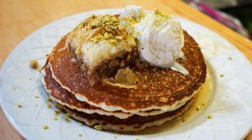 Salt and Honey Baklava Pancakes
