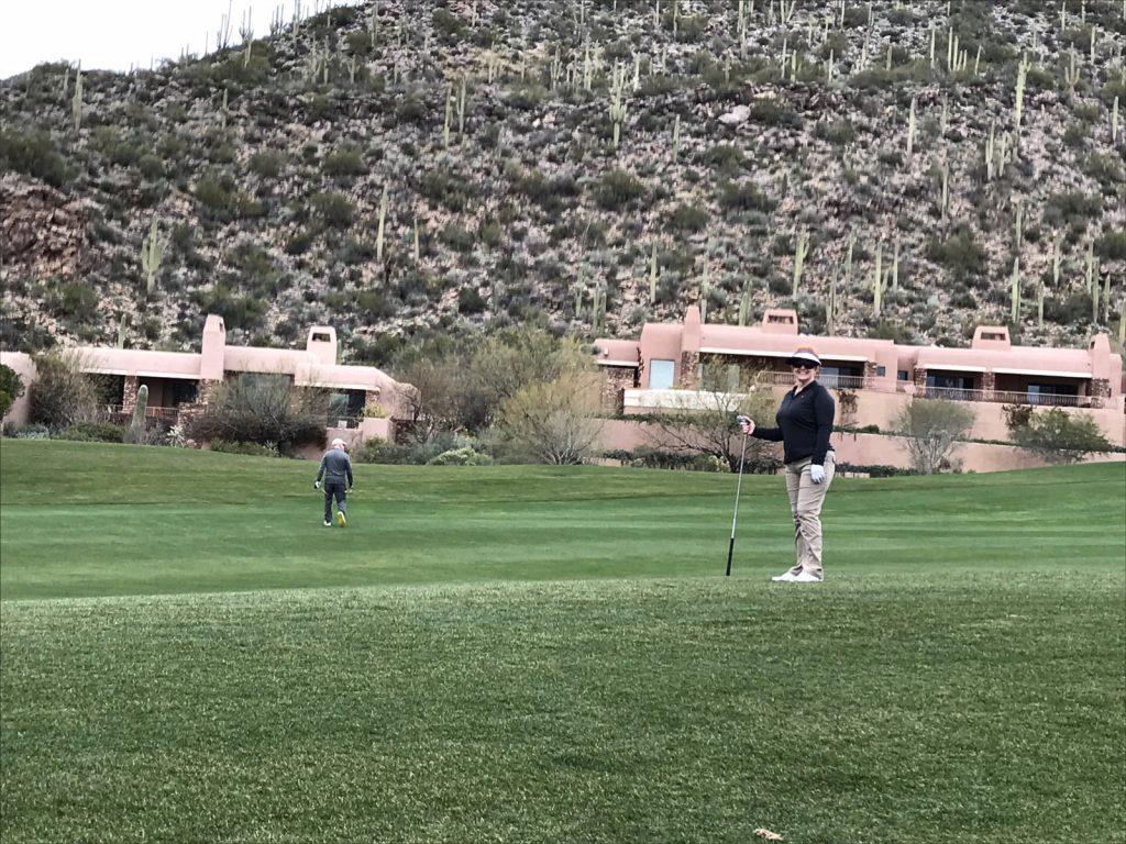 Golfing in Tucson