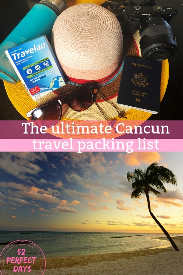 Cancun Packing List