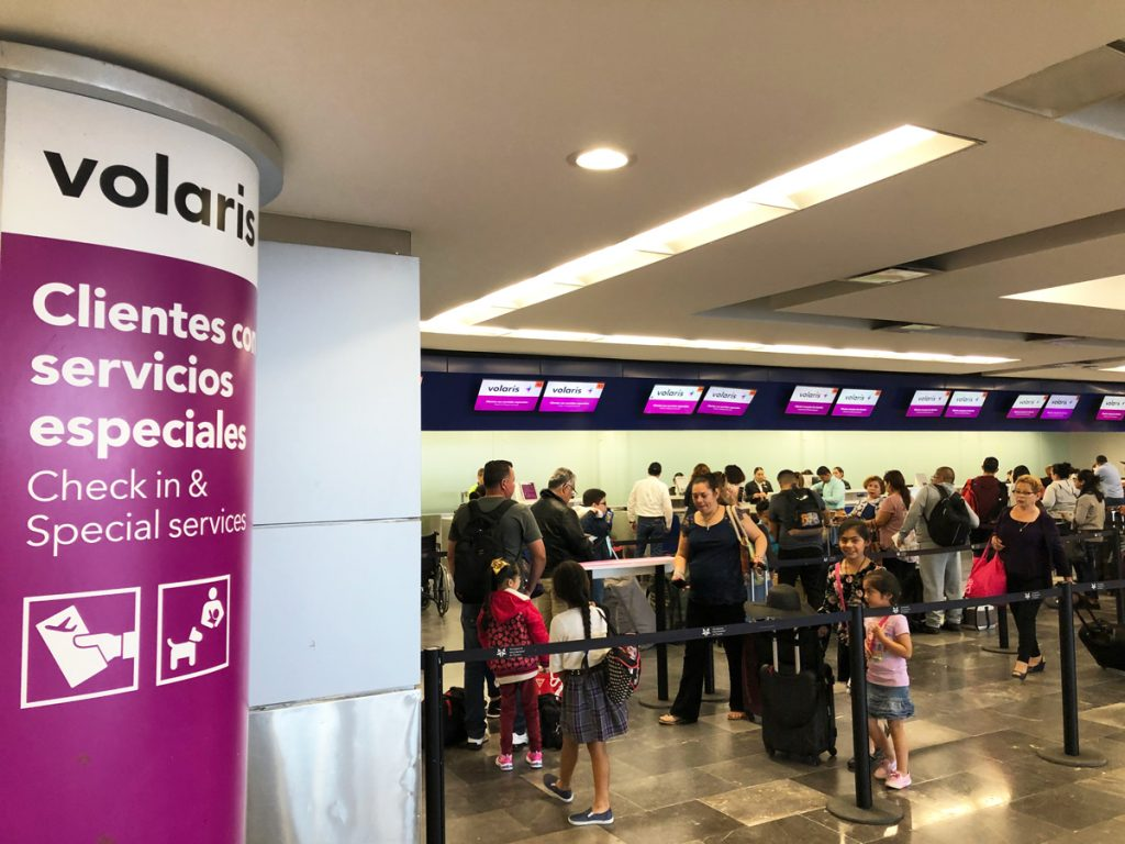Volaris check in Tijuana airport