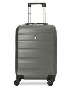 Spinner carry on suitcase