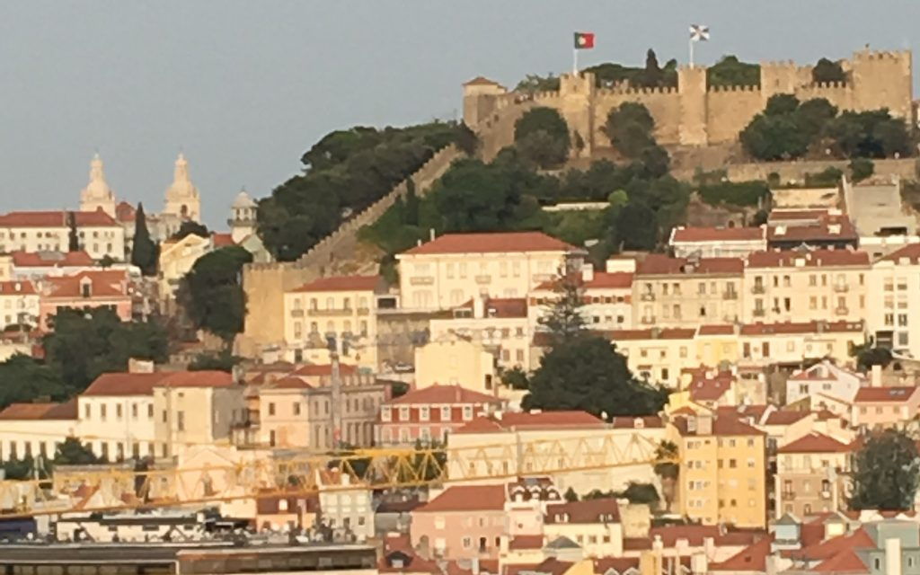 Castelo de Sao Jorge in Lisbon, Portugal