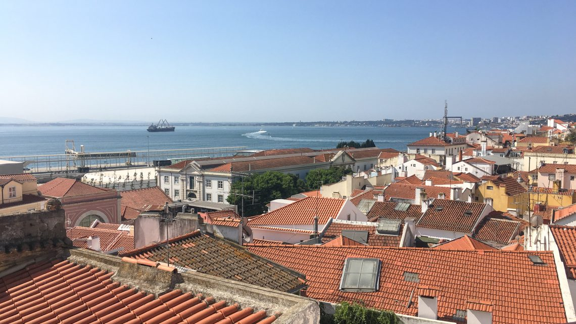 Libson, Portugal view of city