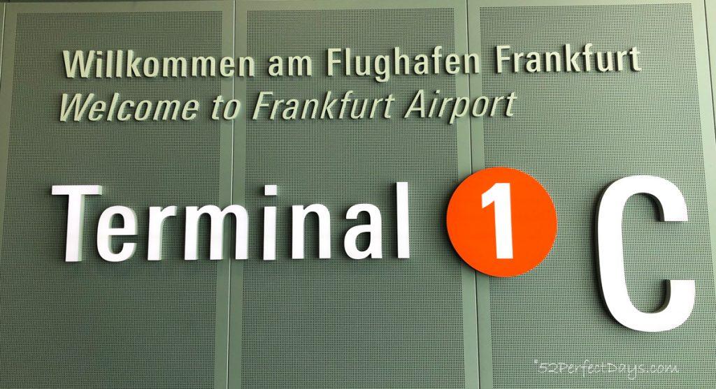 Condor Airline terminal in Frankfurt