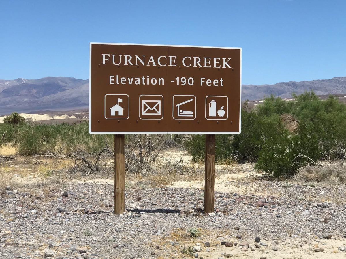 Golf at the Furnace Creek Golf Course