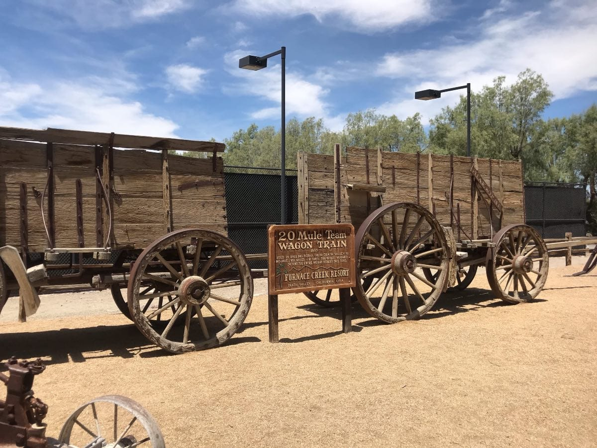 death Valley wagon train