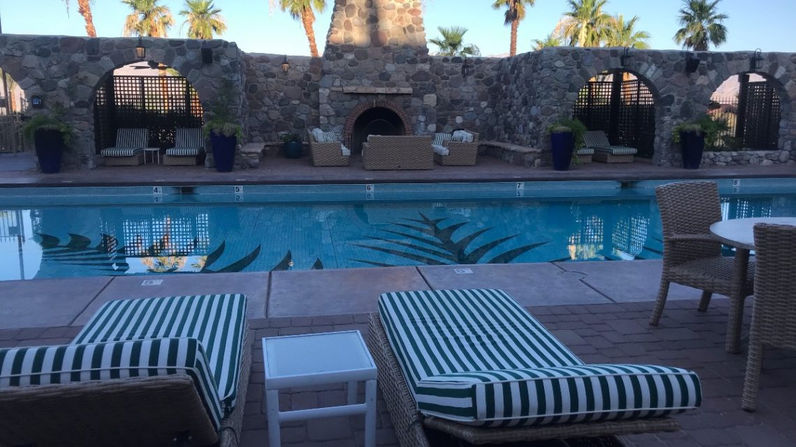 Pool at the Inn at Death Valley