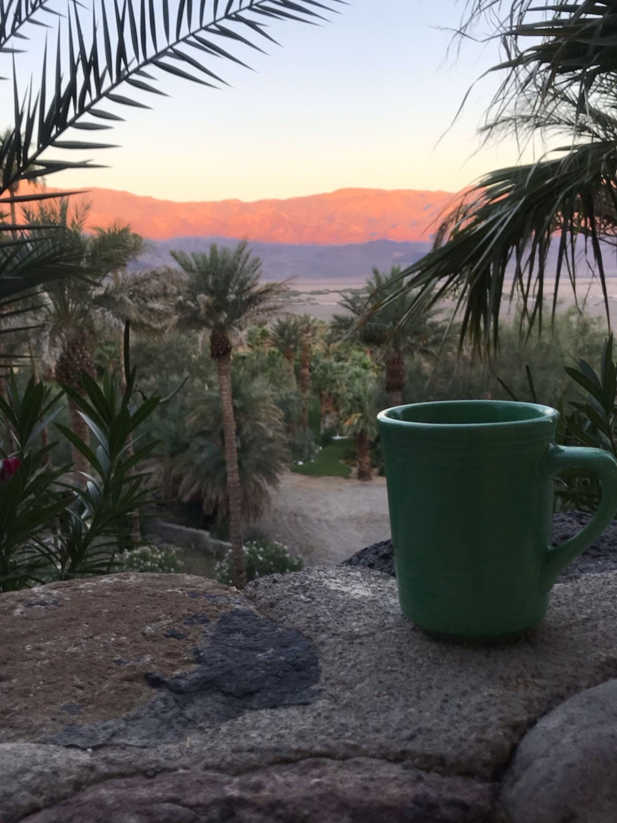 Sunrise at Death Valley