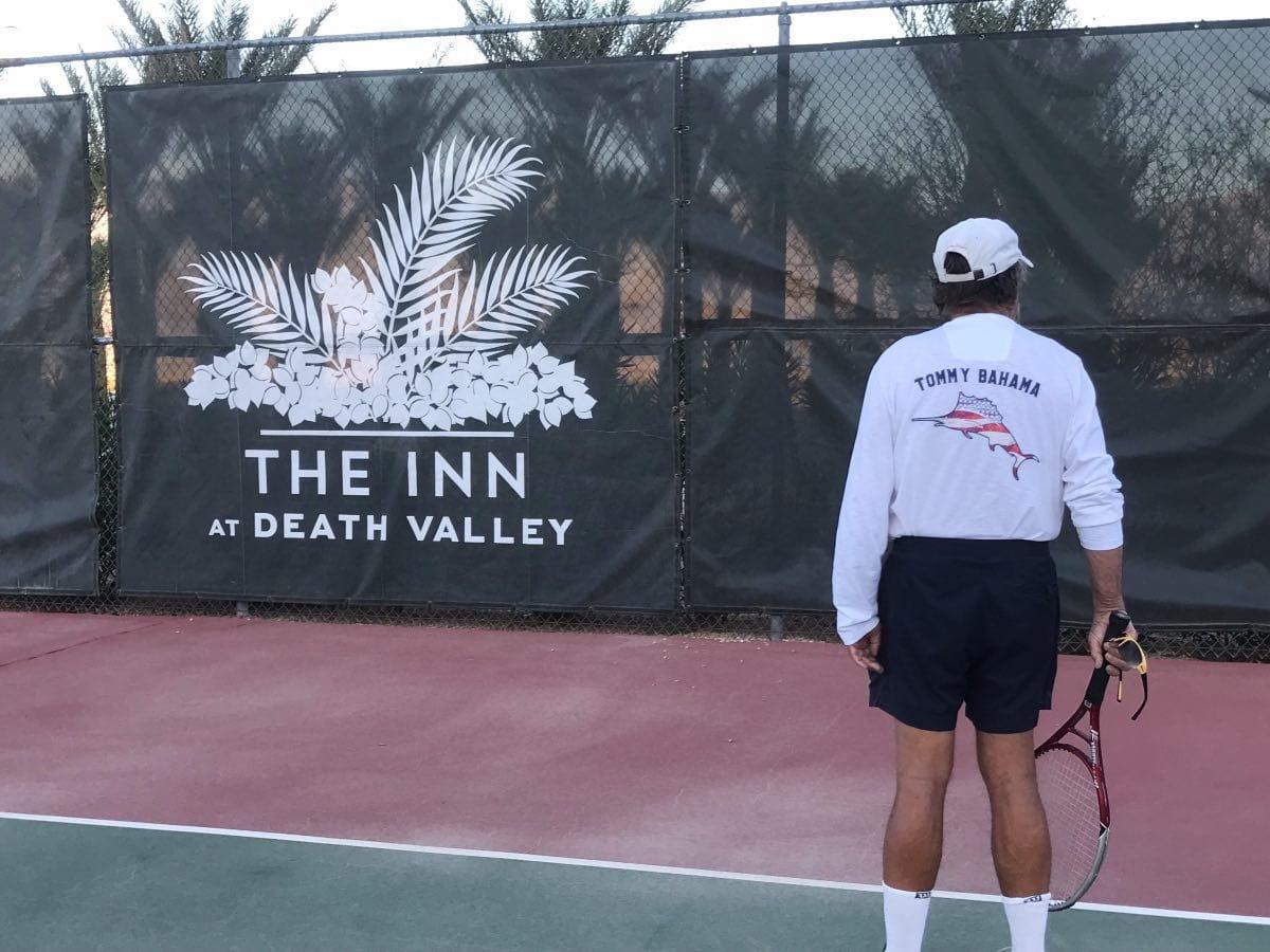 Death Valley Tennis Court at the Inn