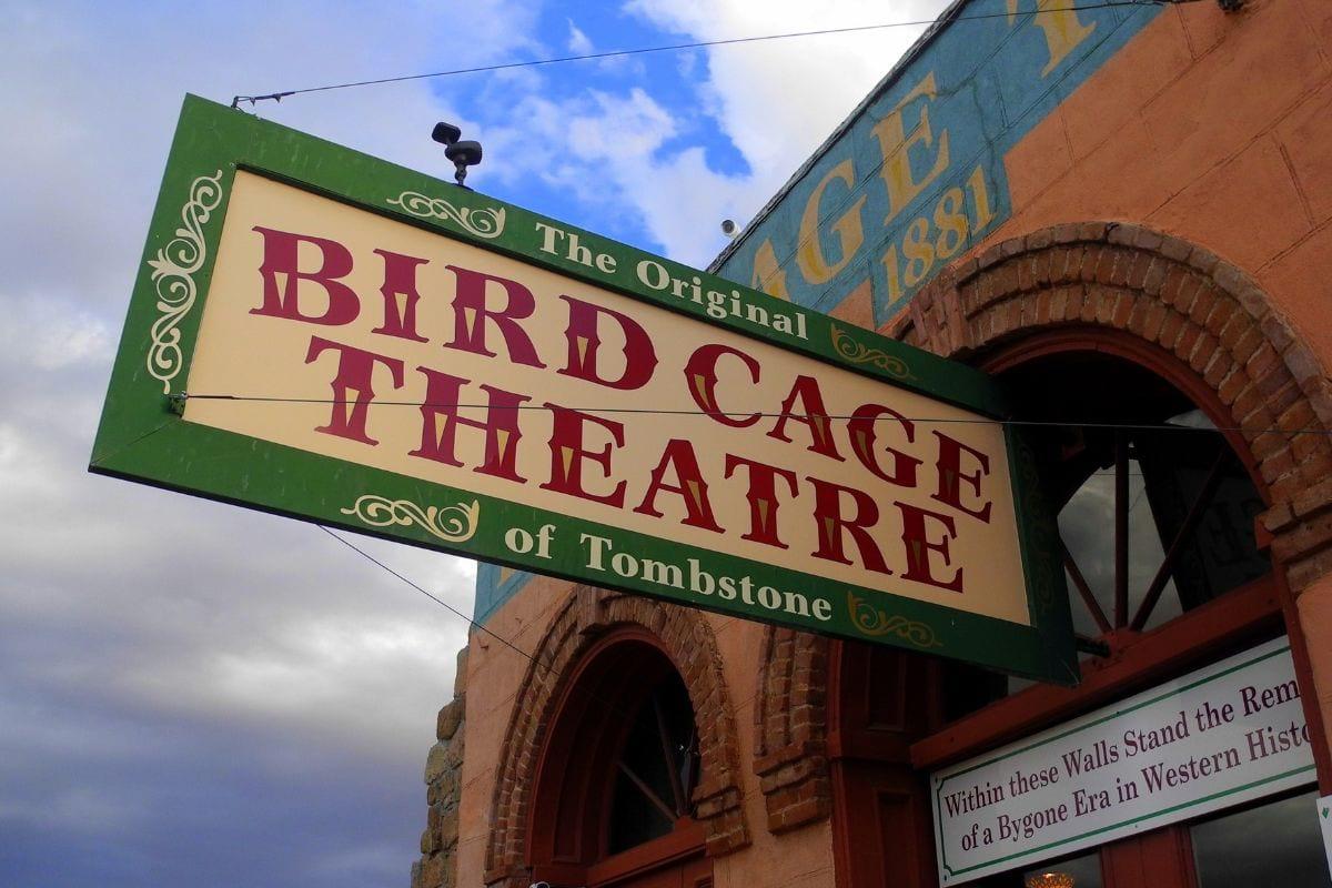 Bird Cage Theatre in Tombstone, Arizona