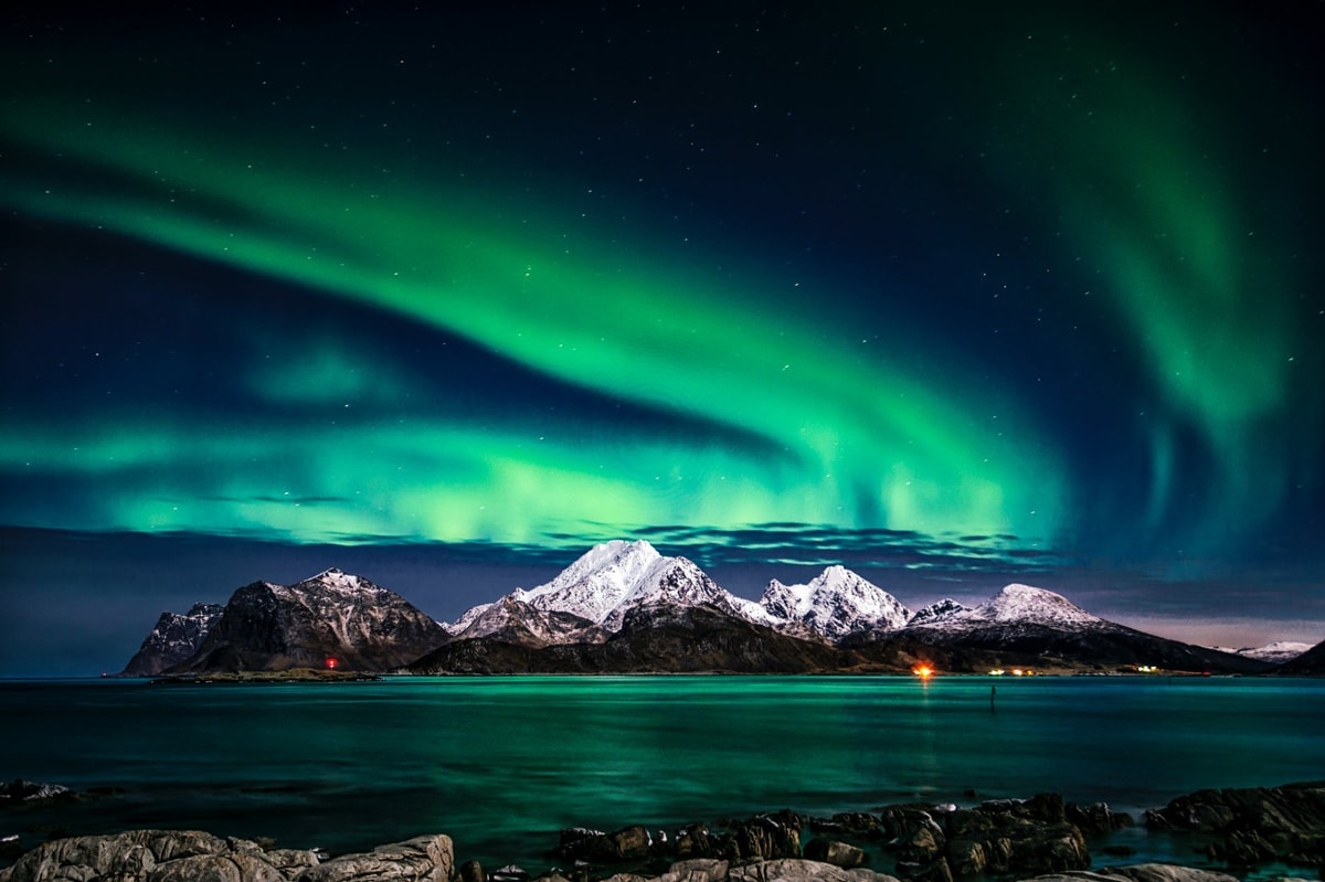 aurora northern lights in Norway