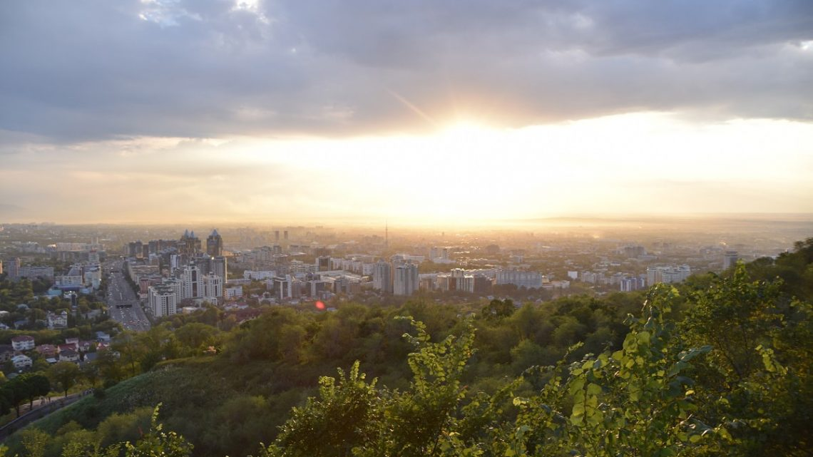 View of Almaty, Kazakhstan