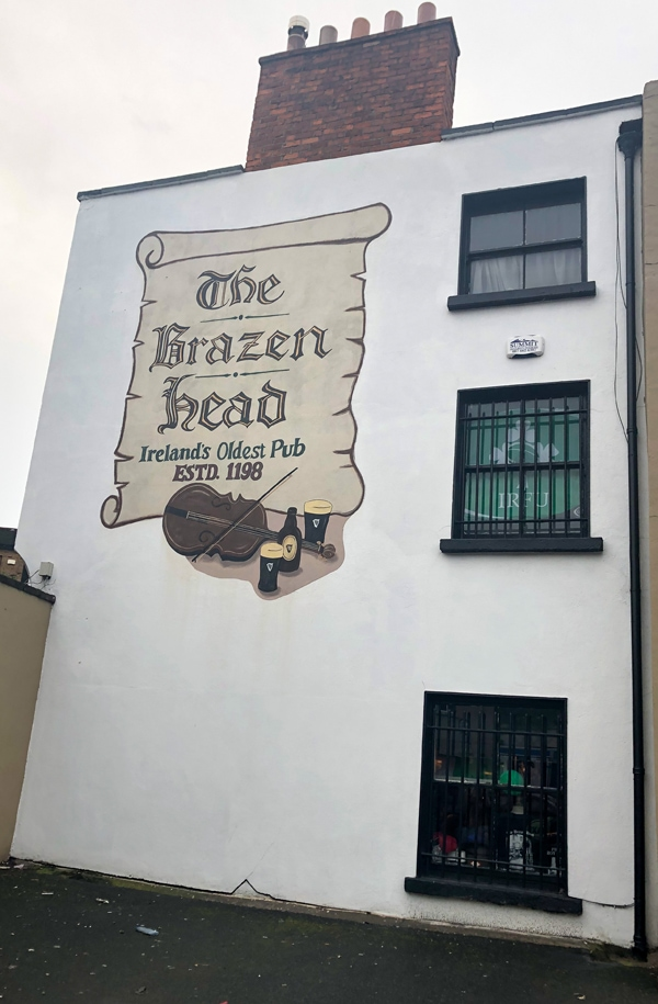 Brazen Head in Dublin