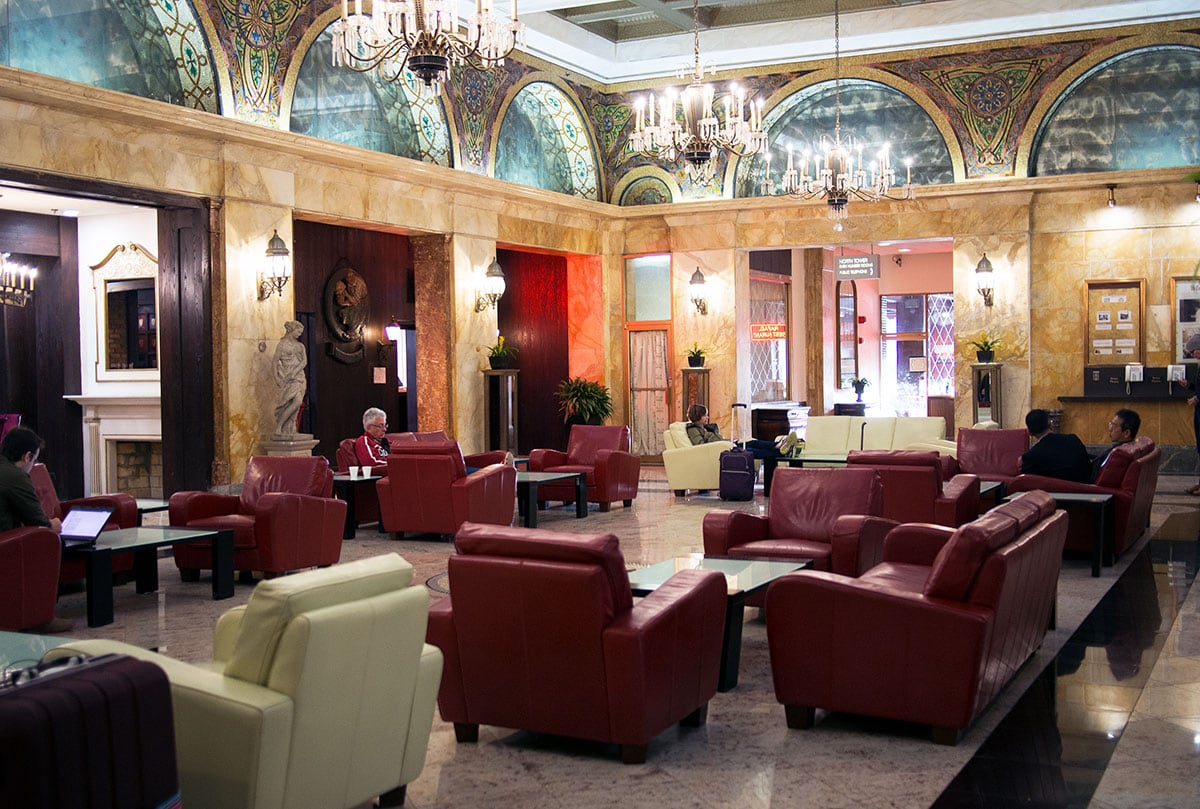 Congress Plaza Hotel; the most haunted hotel in Chicago