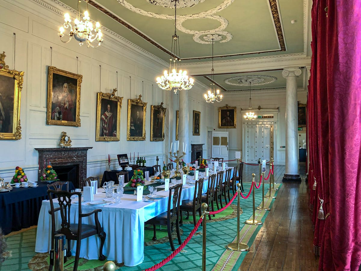 Dublin Castle Dining Room
