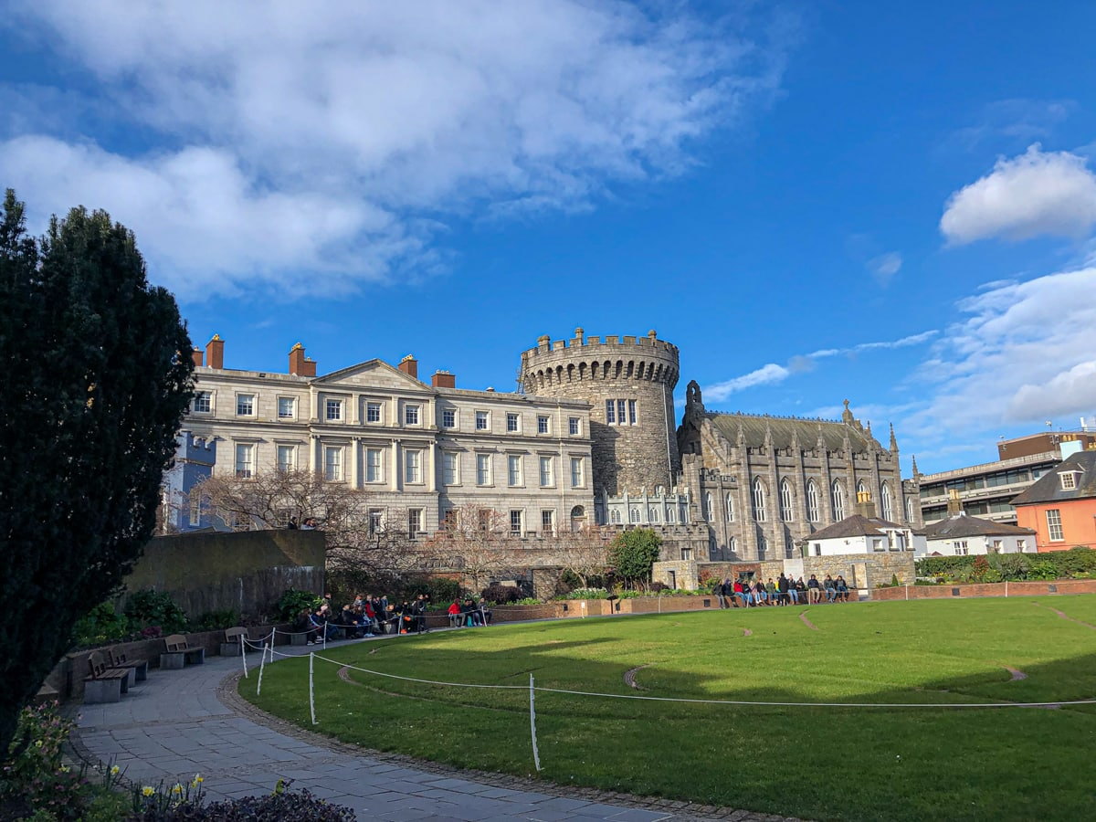 Dublin Castle (from garden side)