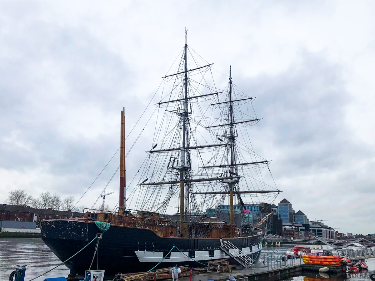 Jeannie Johnston Famine Ship