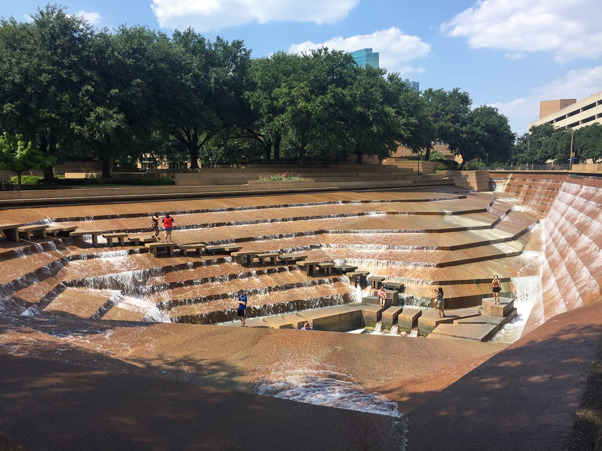 The Fort Worth Water Gardens