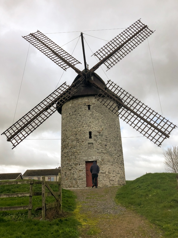 Skerries Mills Four Sail Windmill