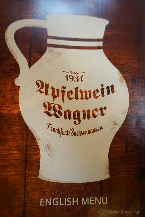 Apfelwein Wagner in Frankfurt