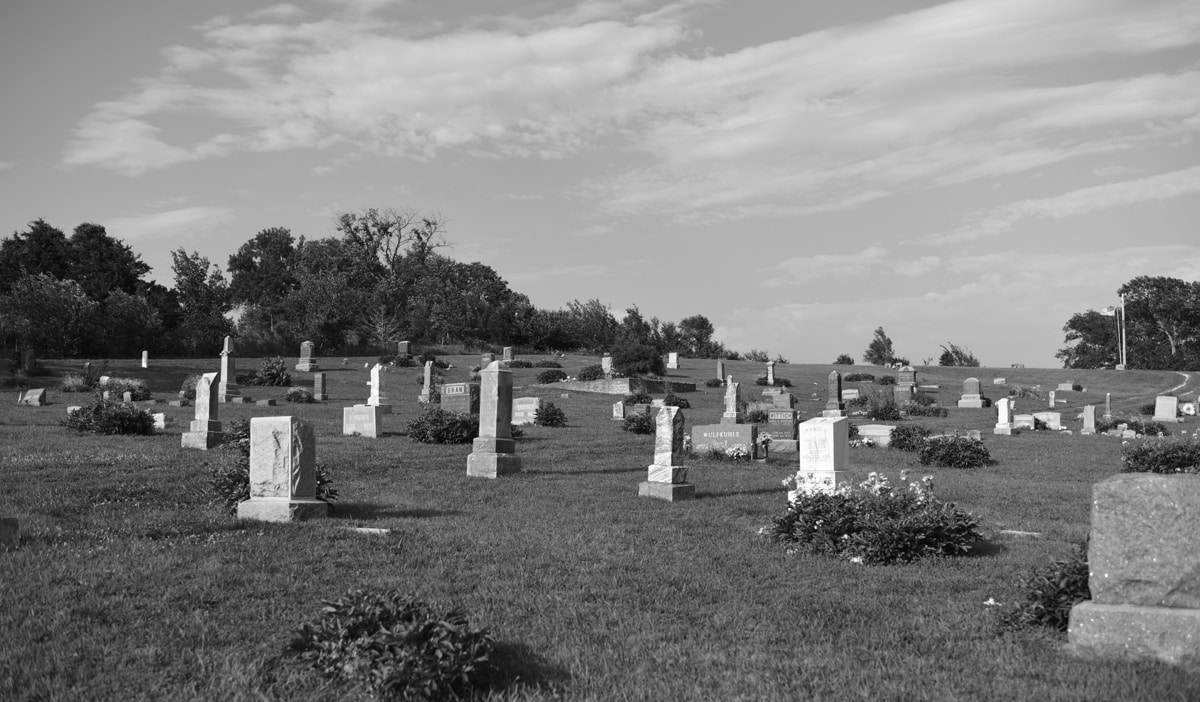 Stull Cemetery in Lecompton