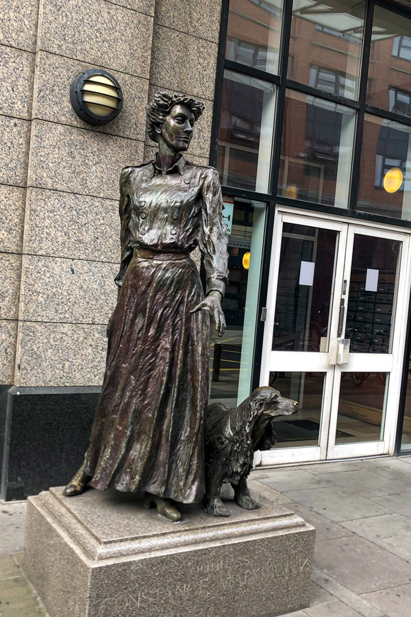 historic statues in Dublin