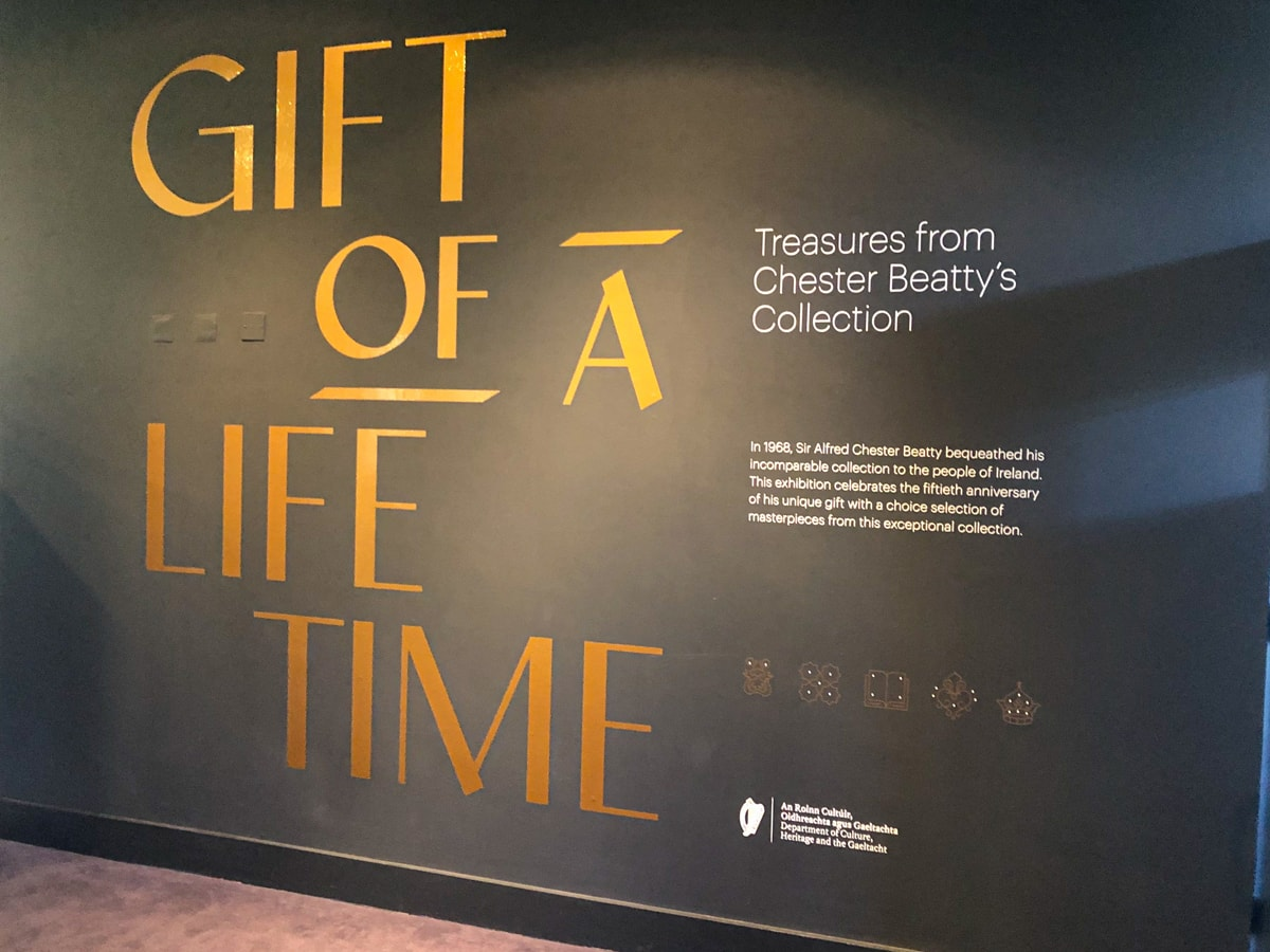 Chester Beatty Library gift of a lifetime
