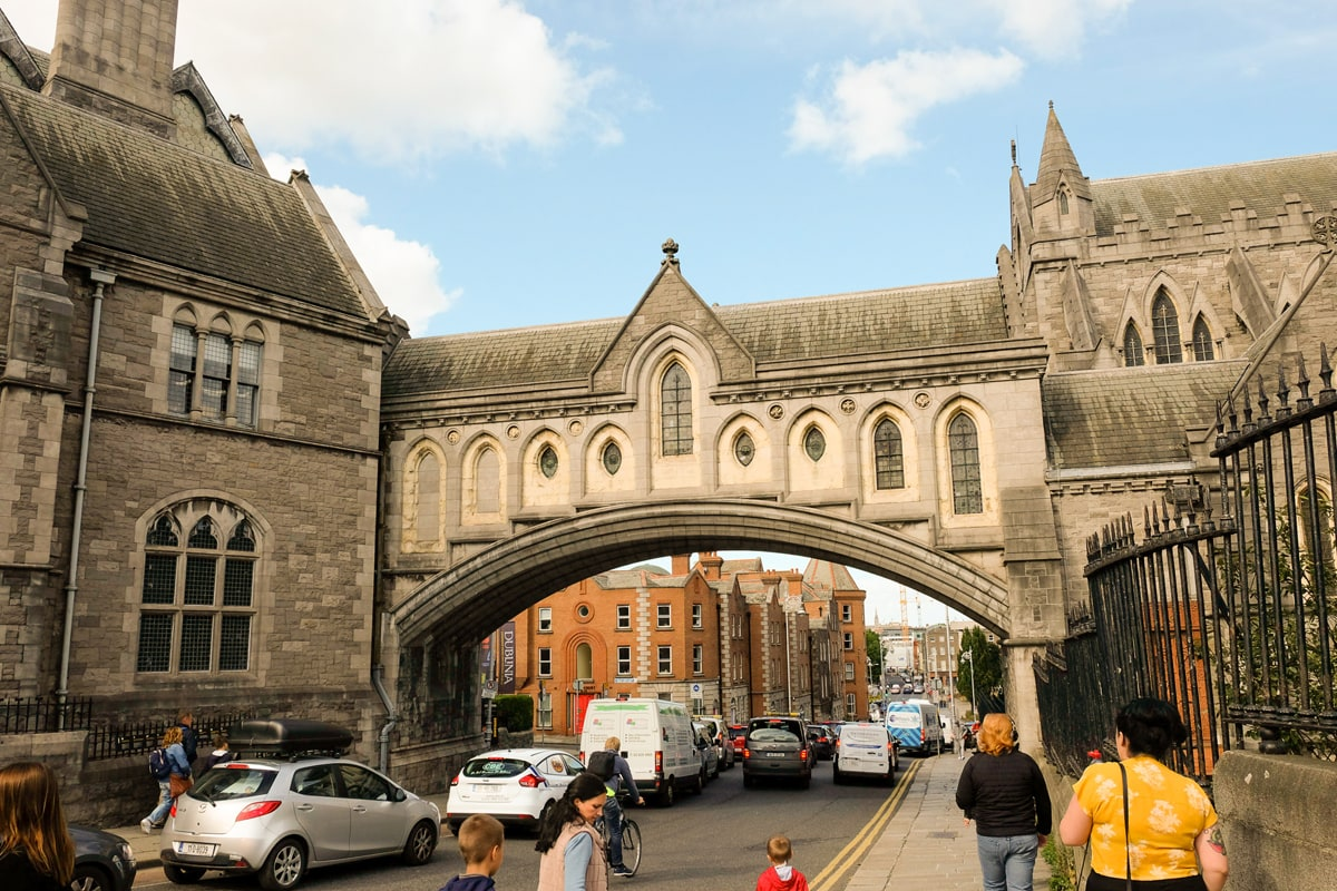 Christ Church Cathedral arch
