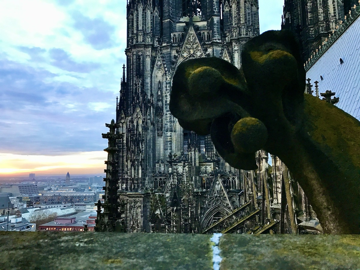 Top of Cologne Cathedral