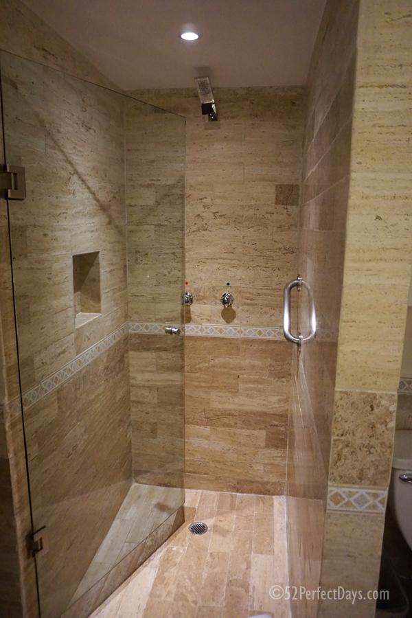 bathroom at park royal beach resort
