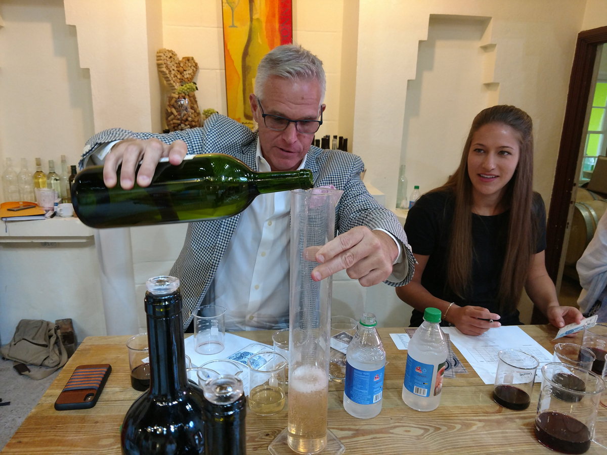 Take a Wine Blending Class
