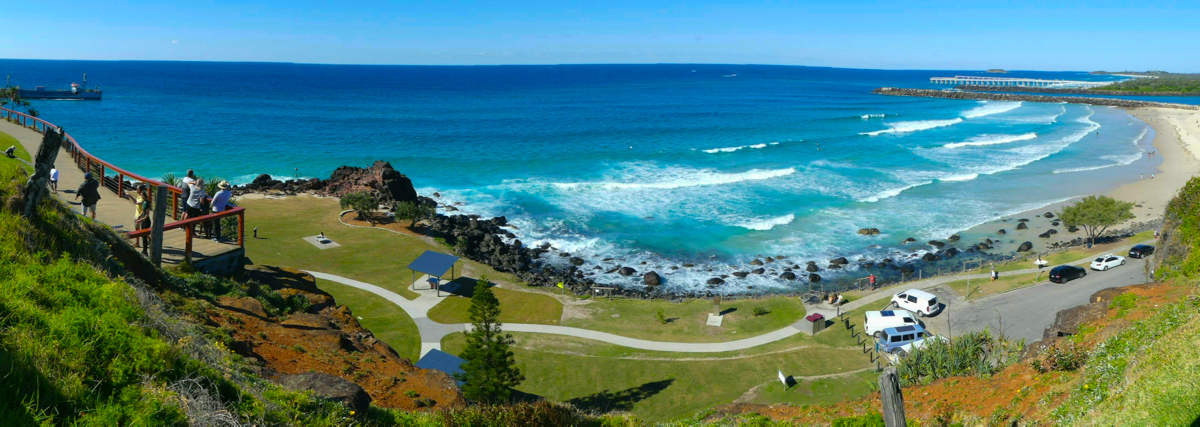 Duranbah Beach - View from the Coolangatta Headland