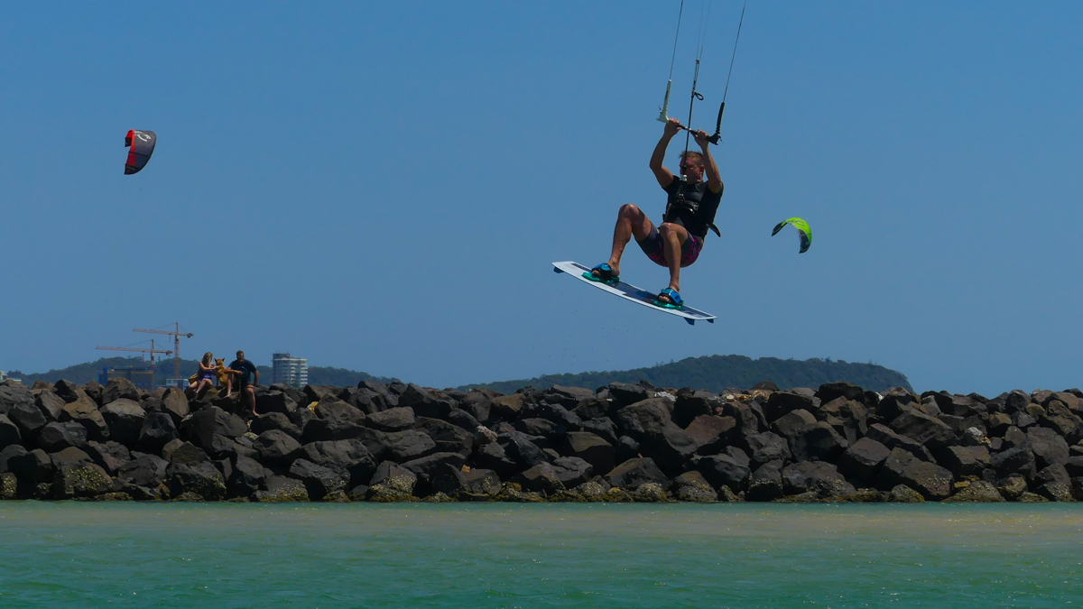 Kite Surfing on the Gold Coast