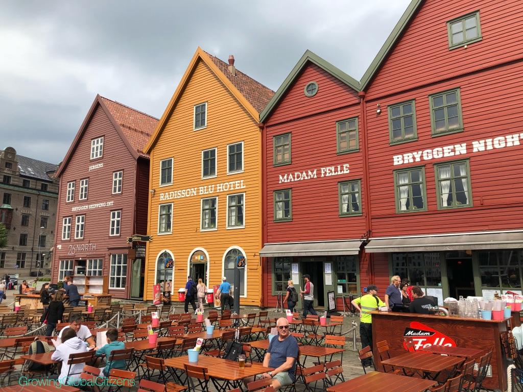 Bryggen buildings